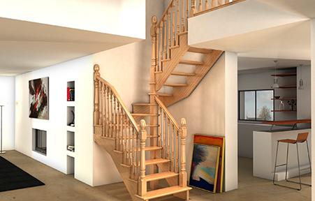 Escaleras De Interior Baratas Escalera Con Perfilado En